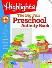 The Big Fun Preschool Activity Book: Build Skills and Confidence Through Puzzles