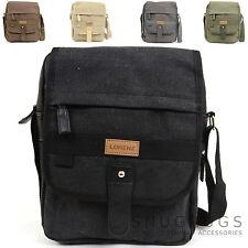 Ladies /Womens /Mens CanvasMessenger / Cross Body / Shoulder / Travel / Work Bag