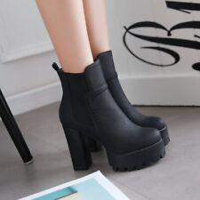 Sexy Damenschuhe High Heels Stiefel Pumps Natchclub Stiefeletten Gr 39