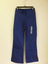 Cherokee Scrub Drawstring Pant Workwear Natural Rise Flare Leg Navy #4101 XS-2XL
