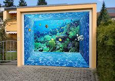 3D Corallo Marino Garage Porta Stampe Parete Decorazione Murale AJ WALLPAPER IT
