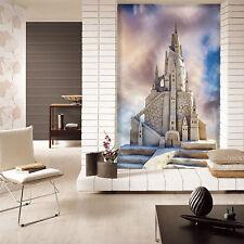 3D Blanc..Château Photo Papier Peint en Autocollant Murale Plafond Chambre Art