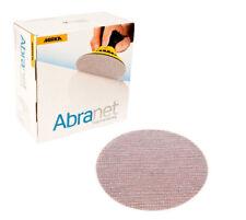 "50 x mirka abranet grip ponçage disque 150mm (6"") - grits P80-P240"