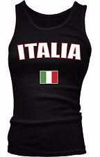 Italy Italia Repubblica Italiana Republic Rome Flag Pride Boy Beater Tank Top