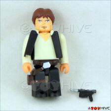 "Star Wars Kubrick Han Solo Medicom 2"" series 26 Figure with weapon loose"