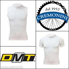 DMT maglia intimo pelle ciclismo tecnica bici canotta bianca estiva anti sudore