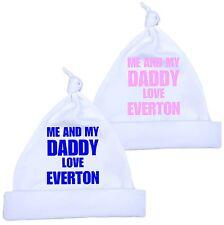 BabyPrem Me Dad Love EVERTON Baby Clothes Cotton Knotted HAT Newborn -12 months