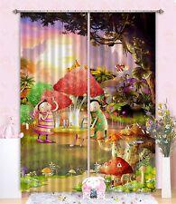 3D Cartoon 73 Blockout Photo Curtain Printing Curtains Drapes Fabric Window AU