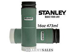 Stanley Classic Green One Hand 6 Hrs Hot Leak Proof Mug Drinks Flask 16oz 473ml