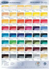 Schmincke Akademie Ölfarben (100ml=9,16€)verschiedene Farbtöne a 60 ml