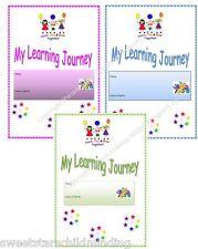 *MY LEARNING JOURNAL/ JOURNEY EYFS* childminder, childminding resource