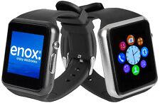 Enox swp22 dorado smartphone Bluetooth handyuhr las SIM uso de cámara