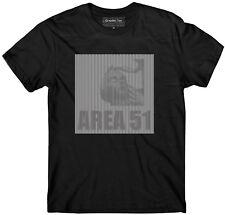 Area 51 t-shirt, optical illusion t shirt,  Property of Area 51, Alien, UFO