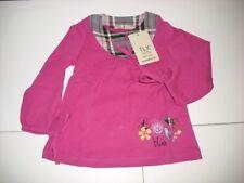 TLX Girls Longsleeve Shirt mit Schleifen pink NEU