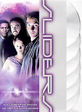 Sliders - Seasons 1 & 2 (Dual Dimension Edition DVD) NEW SEALED