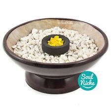Soapstone Charcoal Burner Incense Burner Bowl for Resin Incense + SAND (OR ROCK)