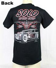 Solo Speed Shop Hauler HOT Rat Rod v8 CUSTOM Pinstripe Muscle US Car T-shirt