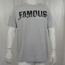 FAMOUS STARS & STRAPS Coliseum Logo Silver T-Shirt S-2XL NEW