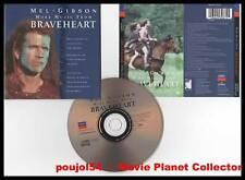 BRAVEHEART - Mel Gibson (CD BOF/OST) James Horner 1997