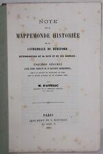 D'Avezac : Note sur la mappemonde historiée de la Cathédrale de Héréford, 1862