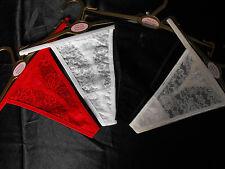 dipti Tanga Tanga Rojo Negro Blanco Crema Mediano Grande XL para dipti Corsé