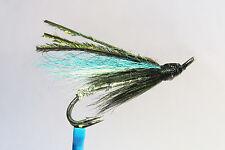 1 x mouche Saumon FAIRY DOUBLE hook salmon fly fliegen steelhead hairwing lachs