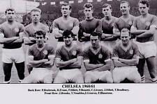 CHELSEA FOOTBALL TEAM PHOTO>1960-61 SEASON