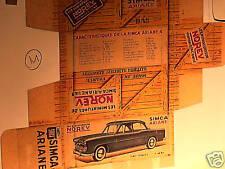 REFABRICATION BOITE SIMCA ARIANE NOREV 1961