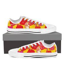 Sixties Floral Low Top Sneakers