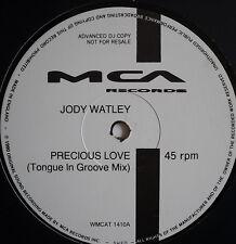 """JODY WATLEY - Precious Love - Ex Con 12"""" Single PROMO"""