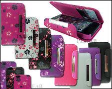 NEW UNIQUE 2 IN 1 CARD HOLDER FLIP SIDE WALLET CASE COVER FOR APPLE I PHONE 5 5G