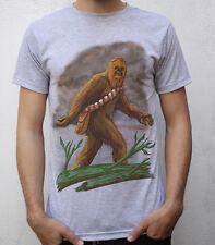 Chewbacca - Bigfoot T shirt Artwork, #StarWars, #Sasquatch
