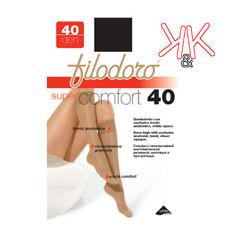Gambaletti Filodoro 40 den donna, gambaletto bordo elastico super confort 3 pz.