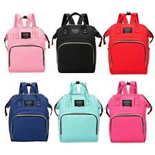 Women Mummy Maternity Travel Backpack Large Capacity Baby Nursing Diaper Handbag