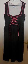 Damen Trachten Kleid  schwarz mit pink  Gr. 42 von Lifos