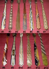 New Men's Brown Necktie w/ Handkerchief Silk Polyester Pick Your Choice