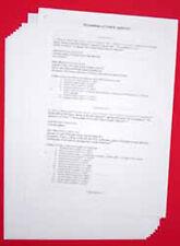 A4 90gsm acido libero Archiviazione Carta - 200 ANNI DI GARANZIA