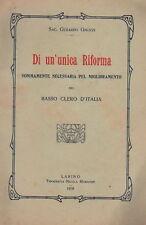 MOLISE_PUGLIA_LARINO_RODI_RIFORMA E CLERO_RARITA' 1910
