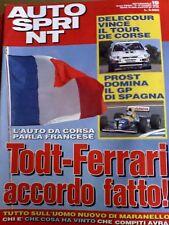 Autosprint 19 1993 Tutte le auto del Gran Premio Spagna