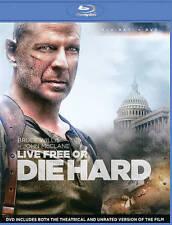 Die Hard 4: Live Free or Die Hard (Blu-ray/DVD, 2013, 2-Disc Set)
