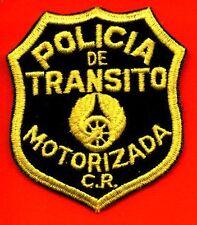 MOTORIZADA POLICIA - COSTA RICA TRANSIT POLICE PATCH