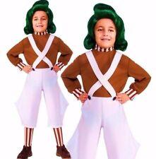 Child OOMPA LOOMPA Charlie Chocolate Factory Roald Dahl Fancy Dress Book Week