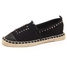 5257P mocassino IMPERFECT nero scarpa donna loafer shoe woman