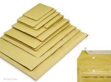 Goldgelbe Luftpolstertaschen