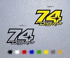 STICKER PEGATINA DECAL VINYL Daijiro Kato 74