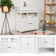 Waschbeckenunterschrank Waschtischunterschrank Badezimmermöbel Weiß 60x60x30 cm