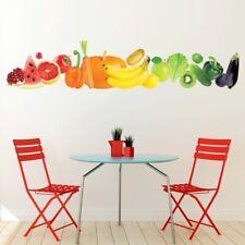 Vers Groenten en fruit banier Muursticker WS-50643