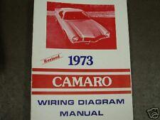 1973 Chevrolet Camaro Wiring Diagram Manual