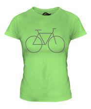 Bicycle Chain Bike Ladies T-Shirt Tee Top Gift Cycling Mechanic