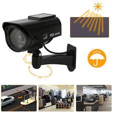 2/4/8x Solar Power Dummy Fake Security Camera Blinking w/ LED Night Surveillance